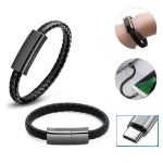 XJ-27 3A USB to Type-C Creative Bracelet Data Cable, Cable Length: 22.5cm