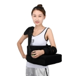 Strap Style Shoulder Abduction Fixation Brace Scapula Dislocation Fracture Fixation Pillow with Grip Ball, Specification: Left