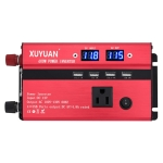 XUYUAN 600W Car Inverter With Display Converter, US Plug, Specification: 12V to 110V