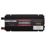 XUYUAN 2000W Car Inverter LCD Display Converter, Specification: 12V to 220V