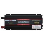XUYUAN 2000W Car Inverter LCD Display Converter, Specification: 24V to 220V