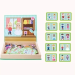 Magnetic Puzzle Children Early Education Magnetic Stick Toy(Character)