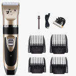 Pet Hair Remover Electric Shaving Haircut Set, Specification: Gold+Cutter Head