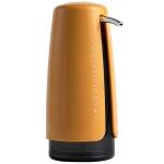 420ML Cosmetic Shampoo Hand Soap Press Type Travel Sub-Bottle(Yellow)