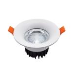 7W 90-265V Led Downlight Recessed Ceiling Light Living Room Shopping Mall Spotlight Corridor Aisle Downlight(6000K)