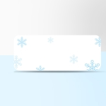 Thermal Label Paper Cosmetic Sticker Bottled Name Sticker For NIIMBOT D11 Printer, Size: Snow Blue