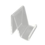 QH-040 10 PCS Acrylic Transparent Mobile Phone Display Stand(Transparent)