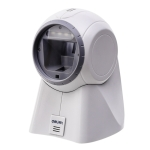 Deli One-Dimensional Code Two-Dimensional Code Screen Barcode Scanner Supermarket Catering Stores Scanner, Model: 14960 White
