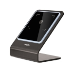 Deli One-Dimensional Code Two-Dimensional Code Screen Barcode Scanner Supermarket Catering Stores Scanner, Model: 14961 Metal Grey