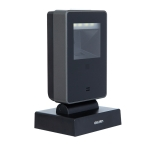 Deli One-Dimensional Code Two-Dimensional Code Screen Barcode Scanner Supermarket Catering Stores Scanner, Model: 14962 Black
