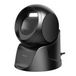 Deli One-Dimensional Code Two-Dimensional Code Screen Barcode Scanner Supermarket Catering Stores Scanner, Model: 14963 Black