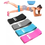 4 in 1 Intensity Gradient Latex Anti-Slip Resistance Band Yoga Stretching Stretch Band Set