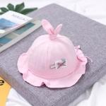 MZ8777 Cartoon Three-dimensional Radish Children Pot Hat Spring Baby Hat, Size: Around 42cm(Deep Pink)