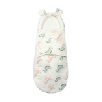 Newborn Cotton Quilt Sleeping Bag Baby Anti-Shock Swaddling Trojan (Thickened), Specification: M (3-6 Months)