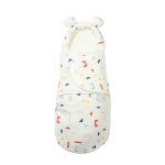 Newborn Cotton Quilt Sleeping Bag Baby Anti-Shock Swaddling Building Blocks (Four Seasons), Specification: M (3-6 Months)