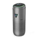 SY01 Negative Ion Aromatherapy Car Air Purifier(Dark Gray with Battery)