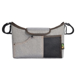 Baby Diaper Storage Carriage Bag Mommy Bag Outdoor Baby Bottle Storage Bag, Colour: Linen Grey