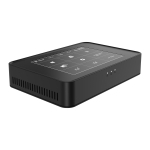 Y100 Windows 10 Home/Pro System Touch Screen Mini PC, Intel Celeron J3455 Quad Core 2M Cache up to 1.50GHz-2.30GHz, RAM: 8GB, ROM: 512GB, US Plug