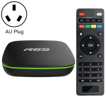 R69 1080P HD Smart TV BOX Android 4.4 Media Player wtih Remote Control, Quad Core Allwinner H2, RAM: 2GB, ROM: 16GB, 2.4G WiFi, LAN, AU Plug