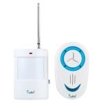 OULIA 220V Wireless Sensor Door Chime Electro Guard Watch, US Plug