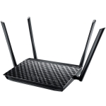 Original ASUS RT-AC1200 1200M Dual Frequency Low Radiation Home WiFi Router Wireless Router Repeater with 4 Antennas