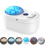 YWXLight 1000ML Dual Spray Silent Humidifier with Projection Lamp