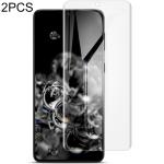 For Samsung Galaxy S21 5G 2 PCS IMAK Curved Full Screen Hydrogel Film