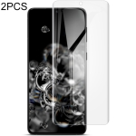 For Samsung Galaxy S21+ 5G 2 PCS IMAK Curved Full Screen Hydrogel Film