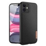 DUX DUCIS Fino Series PU + TPU Protective Case For iPhone 11(Black)