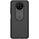 For Xiaomi Note 9 5G / Note 9T  NILLKIN Black Mirror Series PC Camshield Full Coverage Dust-proof Scratch Resistant Case