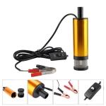 24V Car Electric DC Fuel Pump Submersible Pump, 38mm External Filter Version