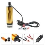 24V Car Electric DC Fuel Pump Submersible Pump, 51mm External Filter Version