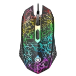 SHIPADOO D620 1600 DPI Three-speed Adjustable Four-button Cool Colorful Respiration Light Gaming Wired Mouse