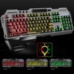SHIPADOO GK70 Wired RGB Floating Detachable Hand Rest Character Translucent Three-color Switching Gaming Keyboard