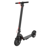 [EU Warehouse] X7 Outdoor Waterproof Foldable Off-road Scooter with 8.5 inch Vacuum Tires & LCD Display& LED Lights & 6.4AH Lithium Battery, Load-bearing: 20-100kg (Black)