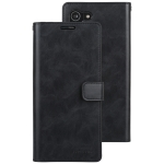 For Samsung Galaxy S21+ 5G GOOSPERY Mansoor Series Crazy Horse Texture Horizontal Flip Leather Case With Bracket & Card Slot & Wallet (Black)