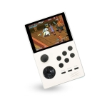 X16 WIFI Version 3.5 inch Screen Mini Handheld Game Console Supports Bluetooth Controller / HDMI / MP3  32G (White)