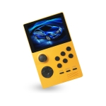 X16 WIFI Version 3.5 inch Screen Mini Handheld Game Console Supports Bluetooth Controller / HDMI / MP3 128G (Orange)