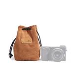 S.C.COTTON Liner Shockproof Digital Protection Portable SLR Lens Bag Micro Single Camera Bag Square Khaki S