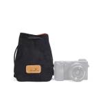 S.C.COTTON Liner Shockproof Digital Protection Portable SLR Lens Bag Micro Single Camera Bag Square Black S
