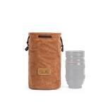 S.C.COTTON Liner Shockproof Digital Protection Portable SLR Lens Bag Micro Single Camera Bag Round Khaki M