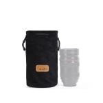 S.C.COTTON Liner Shockproof Digital Protection Portable SLR Lens Bag Micro Single Camera Bag Round Black M