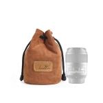 S.C.COTTON Liner Shockproof Digital Protection Portable SLR Lens Bag Micro Single Camera Bag Round Khaki S