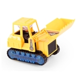Children Light And Music Simulation Electric Excavator Car Toy, Style: Engineering Bulldozer