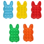 5 PCS Children Puzzle Mental Arithmetic Toy Silicone Pressing Table Game, Random Color Delivery(Rabbit)