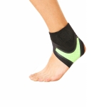 Neoprene Sports Ankle Support Ankle Compression Fixed Support Protective Strap, Specification: Left Foot (Green)