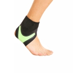 Neoprene Sports Ankle Support Ankle Compression Fixed Support Protective Strap, Specification: Right Foot (Green)
