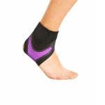 Neoprene Sports Ankle Support Ankle Compression Fixed Support Protective Strap, Specification: Right Foot (Purple)