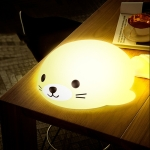 LX-01 Seal Silicone Night Light Mini Colorful Atmosphere Light