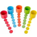 Children Table Game Color Classification Cup Educational Multifunctional Toy